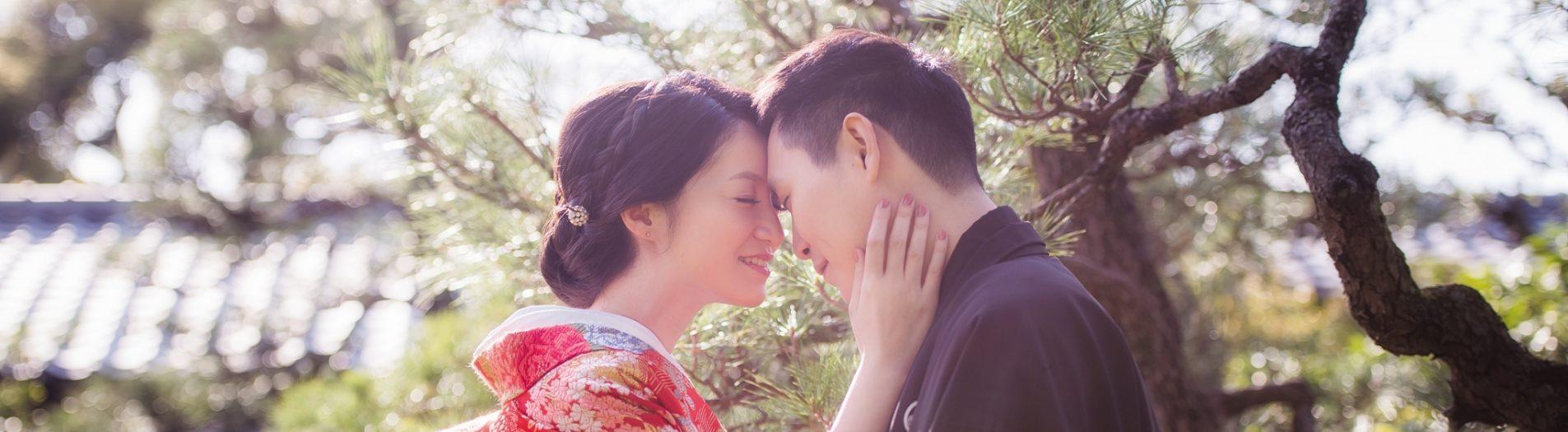 海外婚紗|日本京都櫻花婚紗