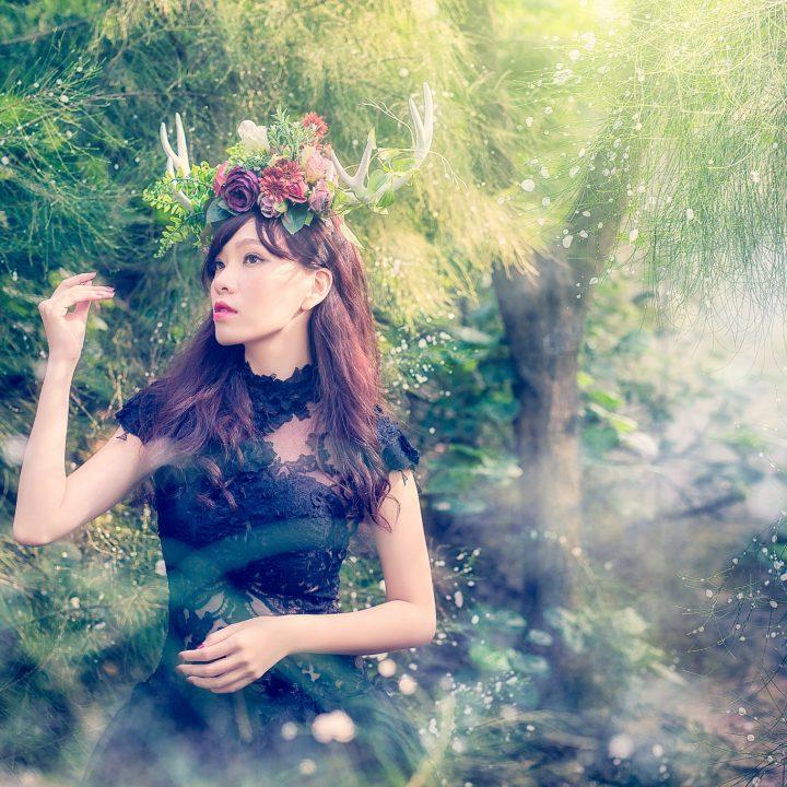 婚紗作品 奇幻森林