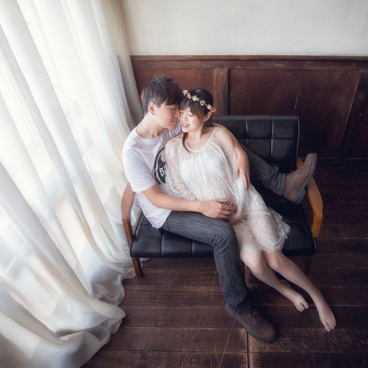 台北婚攝|孕婦寫真  小兔&鋼鐵人