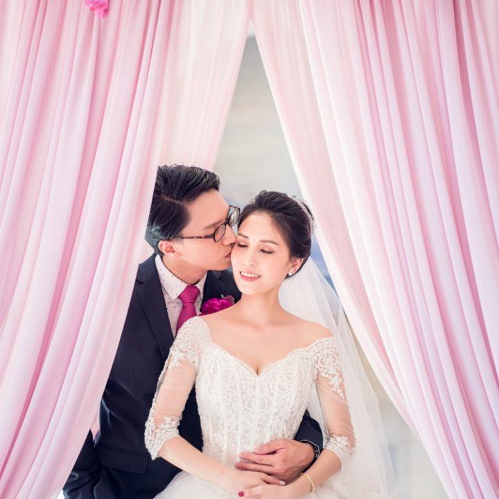 美式婚禮|婚禮紀錄 Jason+Maple 萬豪酒店